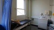 Łóżko do gabinetu medycznego