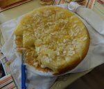 upieczone ciasto