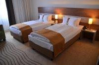 Łóżko w hotelu