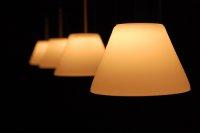 kilka lamp oświetleniowych