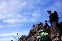 wspinaczka na szczyt